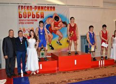 Russian championship in Greco-Roman wrestling among juniors