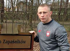 Польский борец засватал девушку сразу после победной схватки