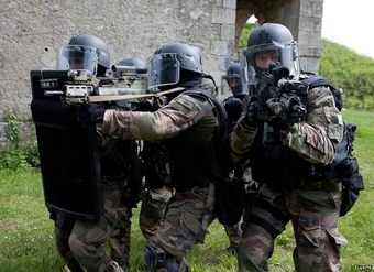 Preparation of special forces