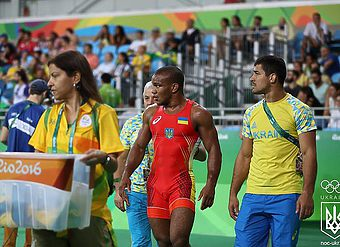 RIO FINAL 85kg Давит Чакветадзе(RUS) - Жан Беленюк(UKR)