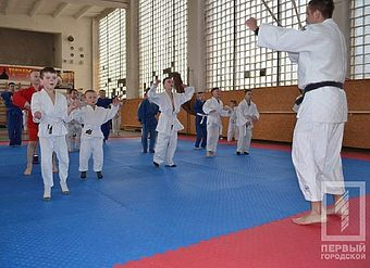 Открытая тренировка по дзюдо